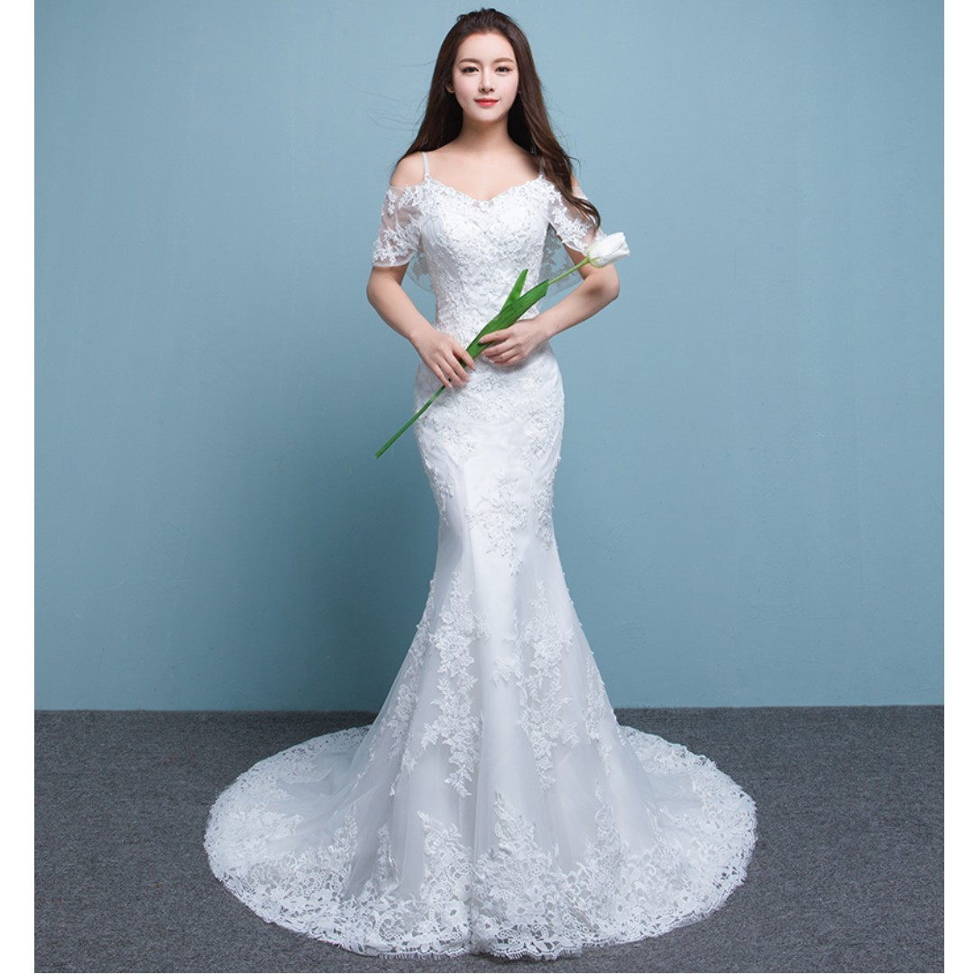 Wedding Collection - Classical M Style Mermaid Design Wedding Gown ...
