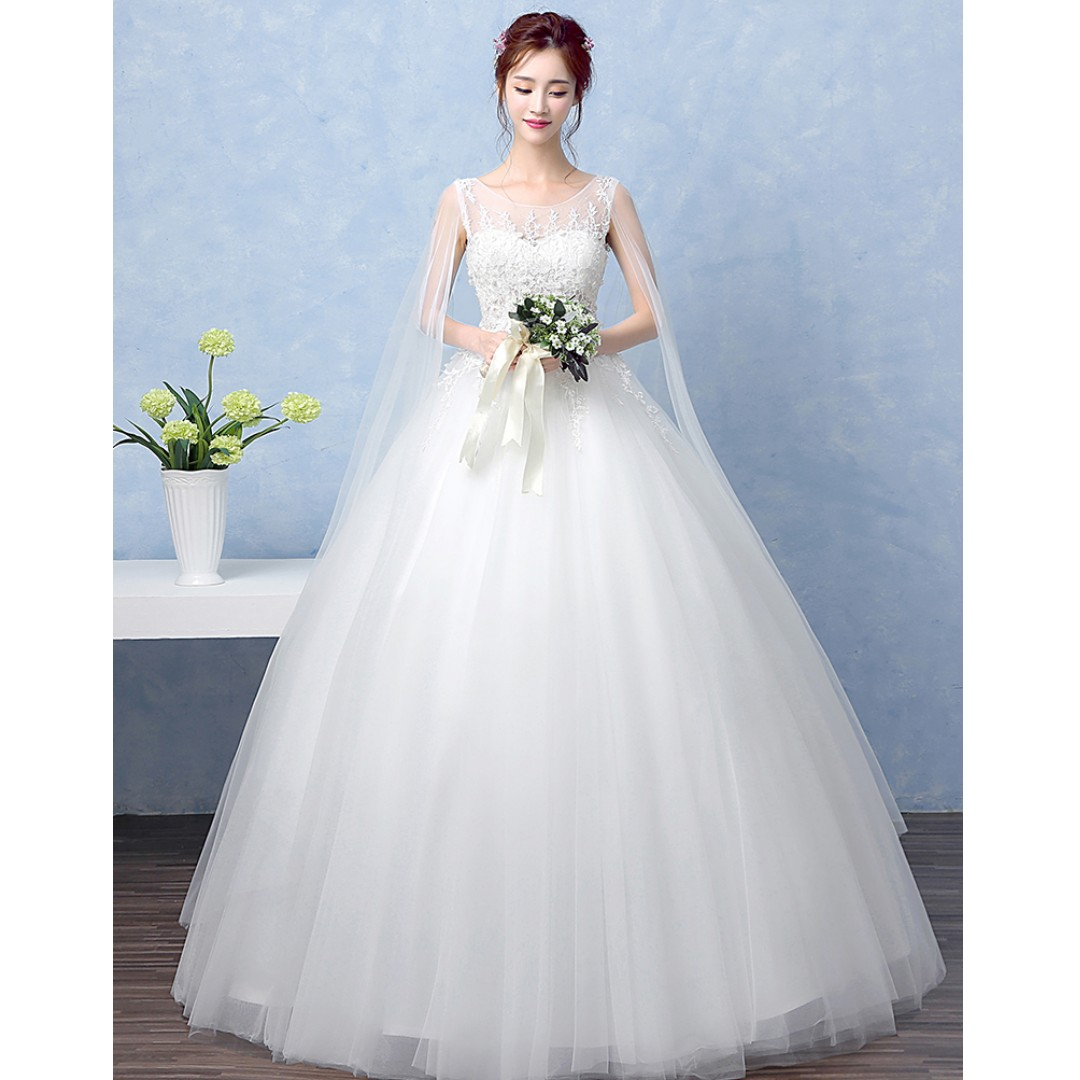 Fairy Wedding Dress.Wedding Collection Lovely Dream Fairytale Wedding Gown