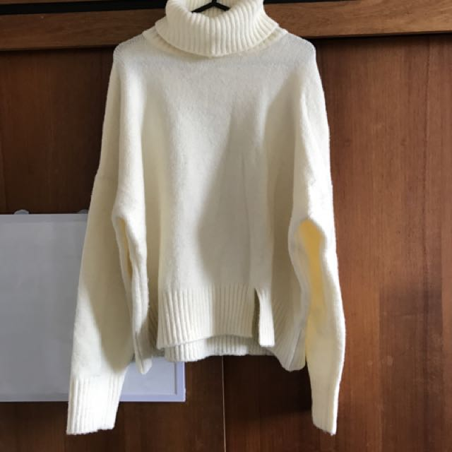 White Knitwear Loose Fashion