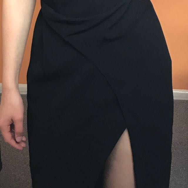 Willow Draped wrap Dress