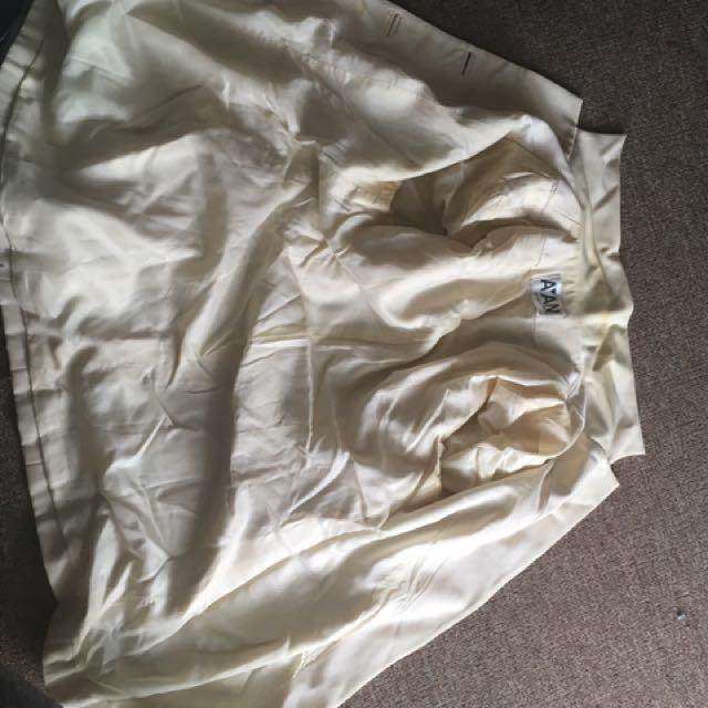 Yellow/White Jacket