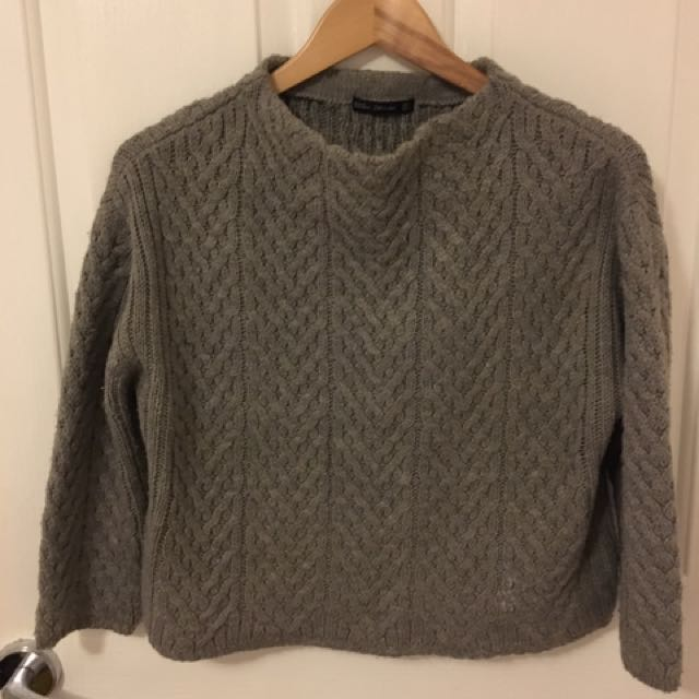 zara boxy knit