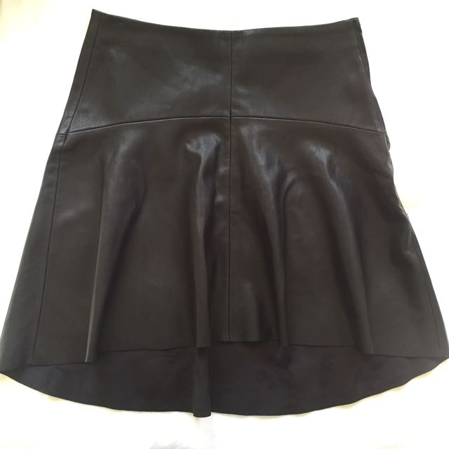 ZARA Leather Skirt BNWT