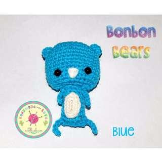Handmade Bonbon Bears Necklace
