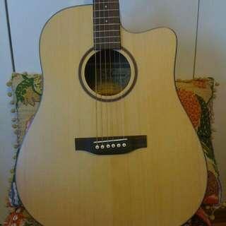 Acoustic guitar MAESTRO SD-2CE