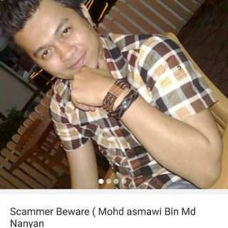 Scammer Mohd Asmawi @bezdeal