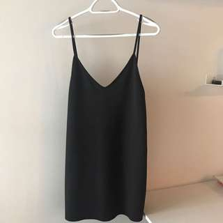 Zara Low back dress size S