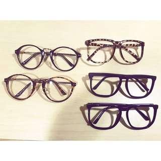 韓國各式造型眼鏡