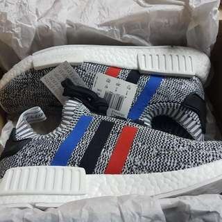 NMD PK R1 Tri-colour White/Grey