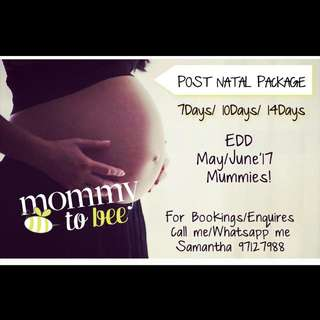 Post Natal Massage / Packages