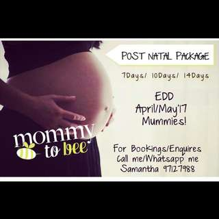 Post Natal. Massage/ Packages