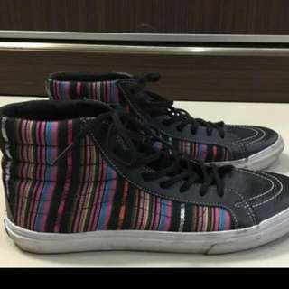 vans sk8 leather authentic