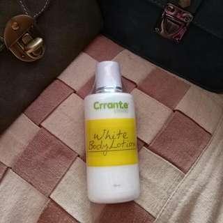 white body lotion Carrante