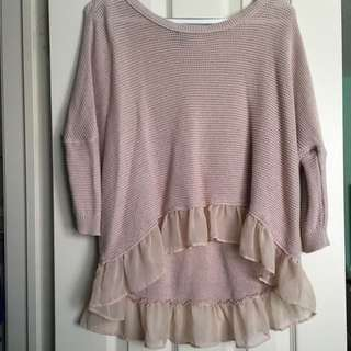 Blush American Eagle Sweater