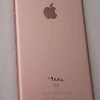 Iphone 6s Rosegold
