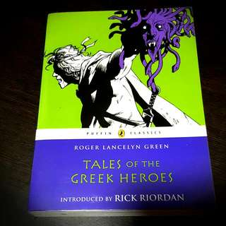 [FREE BOOKS!] Tales Of The Greek Heroes - Roger Lancelyn Green