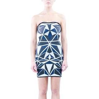 Pattern Bandage Dress