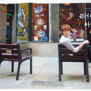 Onew Shinee Barcelona Poster