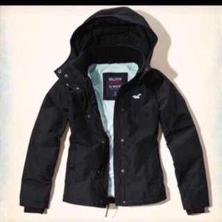 hollister black Jacket