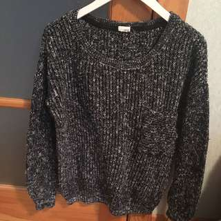 Knitted Garage Sweater