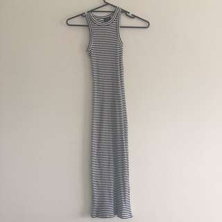 Bardot Body Fit Stripes Dress