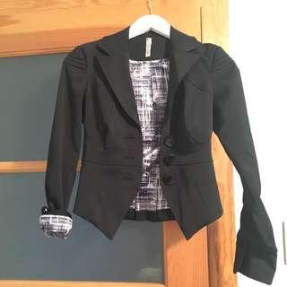 Black Semi-Formal Blazert