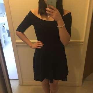 Black Aritzia Lexington Dress