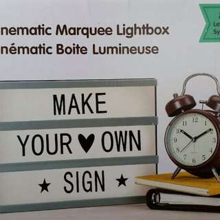 New Led Illuminating Message Board LightBox