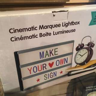 New Illuminating Led Message Board Light Box