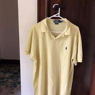 Yellow Polo Shirt.