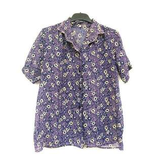 PURPLE BLOUSE SALE 30%