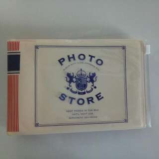 Photo Album with Slide-zippered Bag