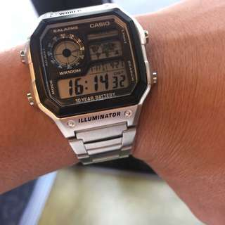 Authentic Casio Standard Digital Watch AE1200WHD-1A