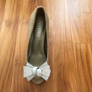 Pazzion Nude Heels Size 35