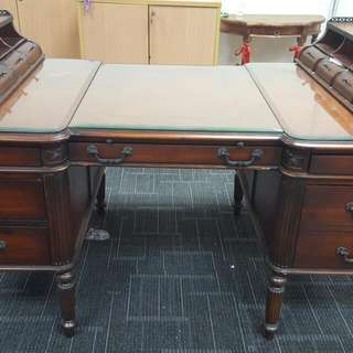 Classic Work Desk / Table With Classic Work Organiser Tray