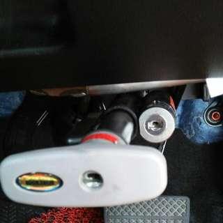 Car Lock Pad