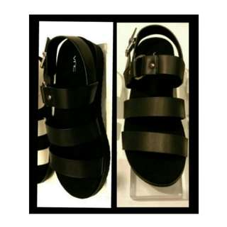 """DICARI : Vnc shoes BLACK"""