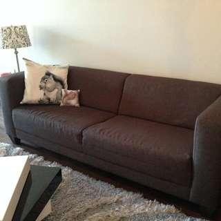 Grey EQ3 Stella Couch