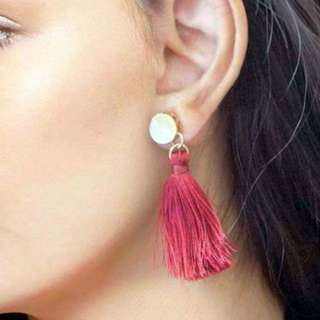 Jewelry Metal Alloy Tassel Earrings