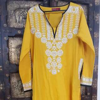 Embroidered Indian/pakistani Shirt