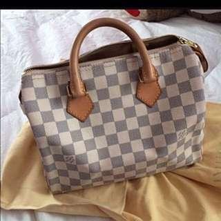 Louis Vuitton Azur Speedy 25