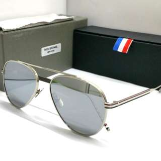 209f7a76fd Authentic Thom Browne Sunglasses + Original Box Case Aviator Mirror Lens