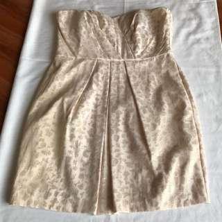 Pink/Gold Dress