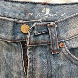 7 FOR ALL MANKIND JEANS SIZE 10 (boys _ preteens)