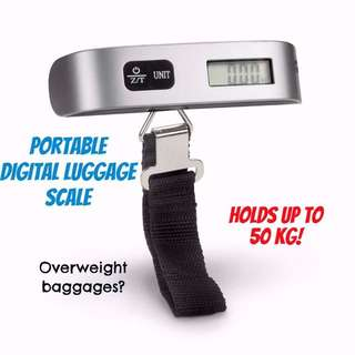 Portable Digital Luggage Scale (In Stocks)