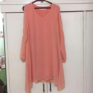 Forever21 Peach Dress