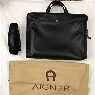 Aigner Laptop/Document Brief (Men)