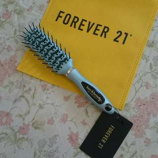 Brand New FOREVER 21 Light Blue HAIR BRUSH / COMB