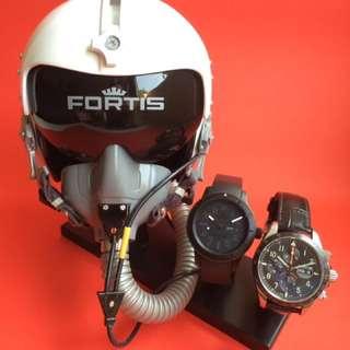Fortis Pilot Head Prop Display Set