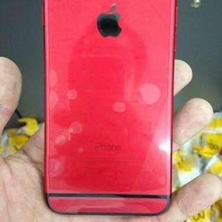 IPHONE 6PLUS RED BLACK